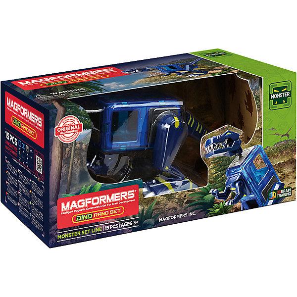 Купить Магнитный конструктор 716003 Dino Rano set, MAGFORMERS, Китай, Унисекс