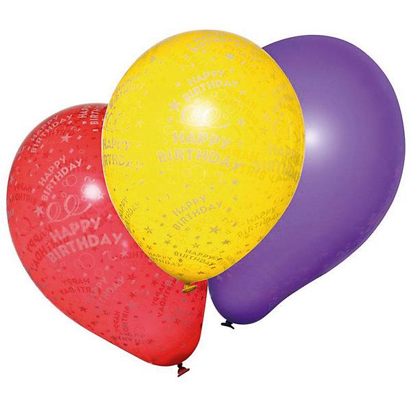 herlitz Шары воздушные  Happy Birthday, 10 шт товары для праздника поиск воздушные шары с днем рождения 50 шт