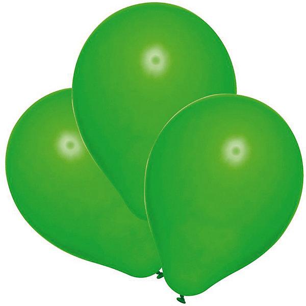 Фотография товара шары воздушные, 25 шт, зеленые (6886495)