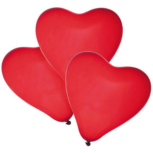 herlitz Шары воздушные Сердце, 50 шт