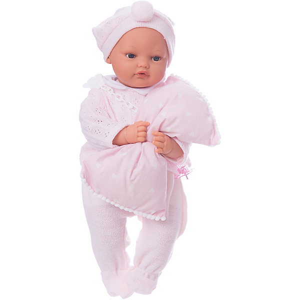 Munecas Antonio Juan Кукла Марита в розовом, плач., 42 см, Munecas Antonio Juan кукла munecas antonio juan амалия 45 см в розовом 2810p