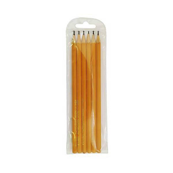 KOH-I-NOOR KOH-I-NOOR Набор карандашей чернографитных, 6 шт. bic набор чернографитных карандашей evolution с ластиком 4 шт