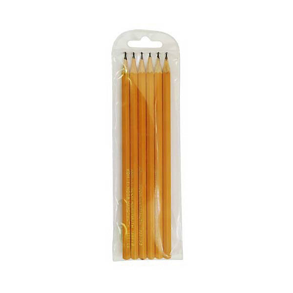 KOH-I-NOOR KOH-I-NOOR Набор карандашей чернографитных, 6 шт. набор угольных карандашей koh i noor gioconda 3 шт