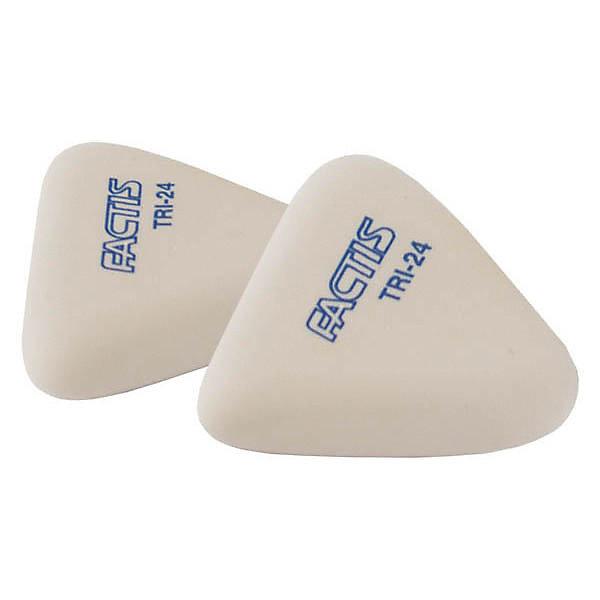 Купить FACTIS Ластики мягкие, треугольные из синтетического каучука, 2 шт., Испания, Унисекс