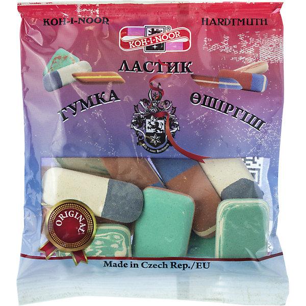 Купить KOH-I-NOOR Набор ластиков, в упаковке с европодвесом (50 гр), Чехия, Унисекс