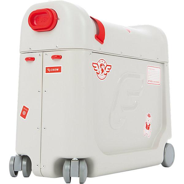 JetKids Детский чемодан-кроватка для путешествий JetKids BedBox, детские чемоданы thorka детский чемодан детский на колесах лягушачий король