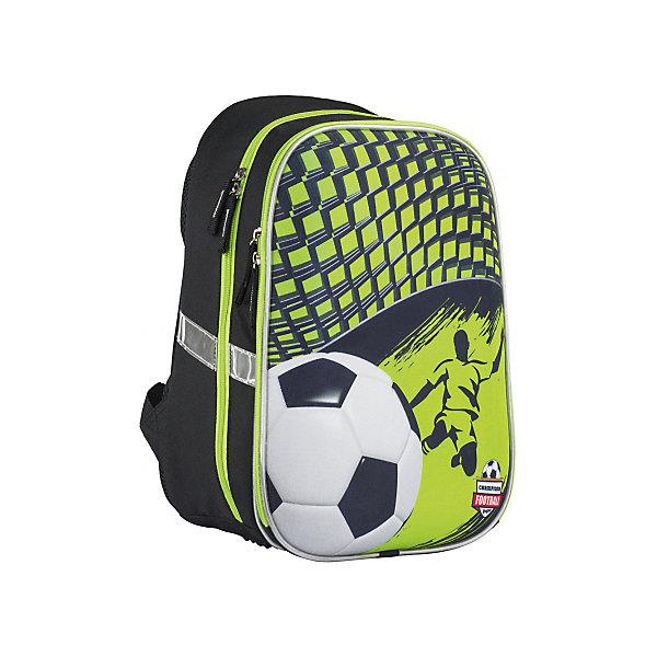 Рюкзак школьный Kinderline Футбол , Китай, Мужской  - купить со скидкой