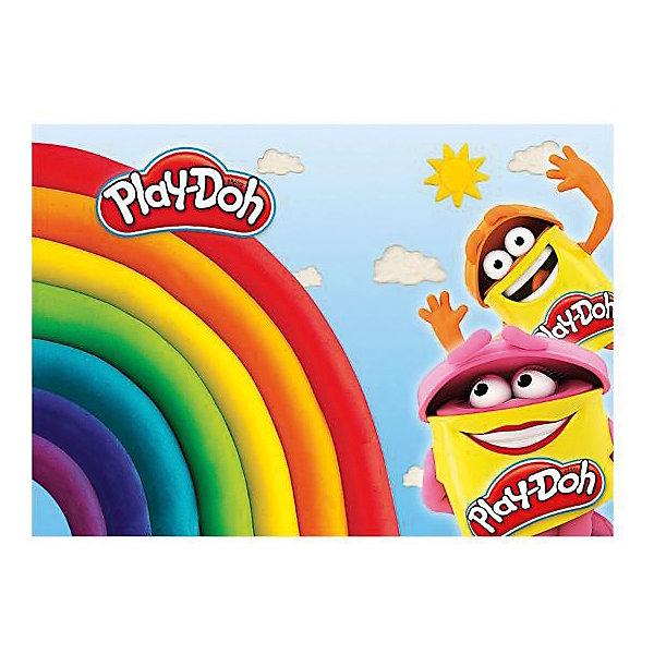 Kinderline Play-Doh Подкладка на стол д/лепки и рисования А4 Размер 21 x 30 см.