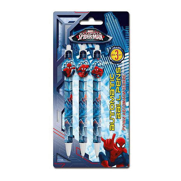 Kinderline Spider-man Classic Набор из 3-х шариковых ручек с фигурным клипом в блистере Размер 20 х 10 х 1,5 см. балансир lucky john classic 3 тройник в блистере 30 мм 20