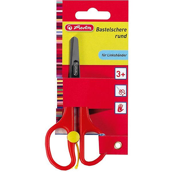Herlitz Ножницы детские для рукоделияНожницы<br>Характеристики:<br><br>• возраст: от 3 лет<br>• длина лезвий: 13 см.<br>• материал: нержавеющая сталь, пластик<br><br>Саморазжимающиеся ножницы для рукоделия от Herlitz (Херлиц) адаптированы для детской руки. Пружина открывает ножницы после каждого сжатия (при желании пружину можно отключить).<br><br>Лезвия ножниц из шлифованной нержавеющей стали обеспечивают высокое качество резки. Кончики лезвий округлены в целях безопасности. Предусмотрены удобные не скользящие пластиковые ручки.<br>• Внимание! Товар, нет возможности выбрать товар конкретной расцветки. При заказе нескольких штук возможно получение одинаковых.<br><br>Herlitz Ножницы детские для рукоделия можно купить в нашем интернет-магазине.<br>Ширина мм: 110; Глубина мм: 750; Высота мм: 1640; Вес г: 0; Возраст от месяцев: 36; Возраст до месяцев: 2147483647; Пол: Унисекс; Возраст: Детский; SKU: 6892627;