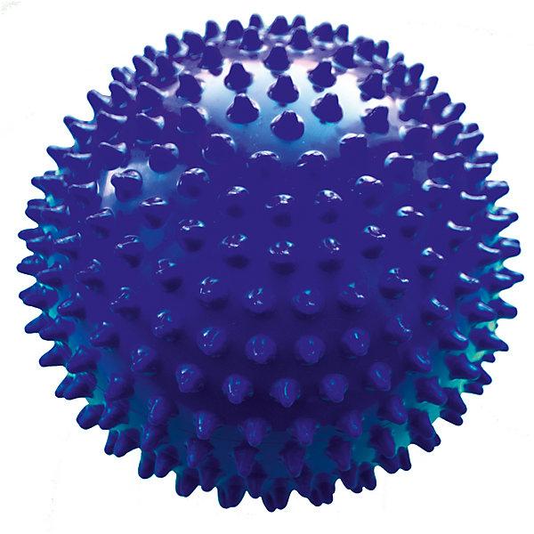 Малышок Мяч ёжик синий, 18 см, МалышОК