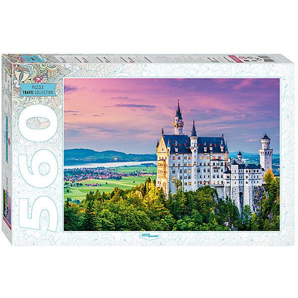Купить Пазл, 560 деталей, Бавария. Замок , Step Puzzle, Степ Пазл, Россия, Унисекс