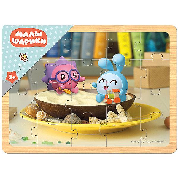 Игра из дерева Малышарики, Step PuzzleПазлы для малышей<br>Характеристики:<br><br>• количество деталей: 20 шт.;<br>• размер игрового планшета: 29,8х22,0см;<br>• размер готовой картинки:27,7х19,5см;<br>• состав: дерево;<br>• вес: 380г.;<br>• для детей в возрасте: от 3лет;<br>• страна производитель: Россия.<br><br>Настольная развивающая игра из дерева «Малышарики»(Мармелад Медиа) от компании специализирующейся на создании пазлов и настольных игр бренда «Steppuzzle» (Степ Пазл) станет хорошим пополнением настольных игр вашего ребенка.<br><br>Игра «Малышарики» создана дл<br>я детишек, только начинающих знакомство с пазлами. Простая яркая картинка с изображением любимых героев привлечёт внимание, что позволит достичь результата.<br><br>Детали пазла очень красочные и хорошо собираются.  Игра сделана из специально обработанного дерева, пазлы гладкие и безопасные.  Собрав части пазла в планшете они превратиться красивую картину. Если разобрать, то его можно собирать снова и снова.<br><br>Играя с пазлами дети развивают не только память, внимательность, логическое и пространственное мышление, моторику рук, усидчивость, терпение, но просто весело и с пользой проведут время.<br><br>Игру из дерева «Малышарики.»(Мармелад Медиа) от компании «Steppuzzle» (Степ Пазл)company можно приобрести в нашем интернет-магазине.<br>Ширина мм: 298; Глубина мм: 220; Высота мм: 8; Вес г: 380; Возраст от месяцев: 36; Возраст до месяцев: 2147483647; Пол: Унисекс; Возраст: Детский; SKU: 6894230;