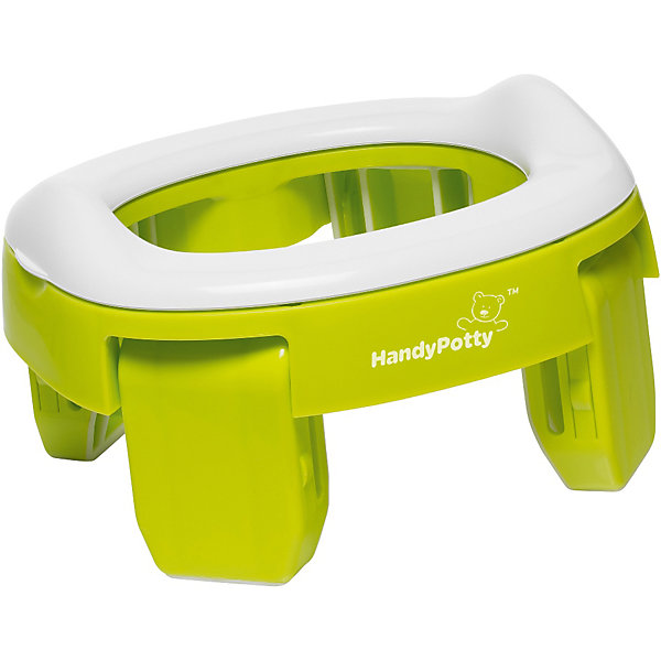 Roxy-Kids Дорожный горшок Roxy-kids HandyPotty, лайм