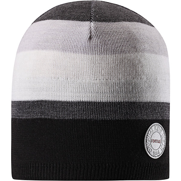 Шапка Reima Nebula для мальчикаШапки и шарфы<br>Характеристики товара:<br><br>• цвет: черный/серый;<br>• состав: 50% шерсть, 50% полиакрил;<br>• сезон: зима;<br>• температурный режим: от +5 до -10С;<br>• шерсть идеально поддерживает температуру;<br>• мягкая и теплая ткань из смеси шерсти;<br>• ветронепроницаемые вставки в области ушей;<br>• частичная подкладка;<br>• логотип Reima® спереди;<br>• страна бренда: Финляндия;<br>• страна изготовитель: Китай.<br><br>Детская шапка из теплого шерстяного трикотажа. Материал превосходно регулирует температуру и хорошо согревает голову. Ветронепроницаемые вставки и полуподкладка из мягкого и дышащего вязаного хлопка. Сплошная жаккардовая узорная вязка. Теплый, удобный, эластичный материал.<br><br>Шапку Nebula Reima от финского бренда Reima (Рейма) можно купить в нашем интернет-магазине.<br>Ширина мм: 89; Глубина мм: 117; Высота мм: 44; Вес г: 155; Цвет: серый; Возраст от месяцев: 36; Возраст до месяцев: 48; Пол: Мужской; Возраст: Детский; Размер: 50,56,54,52; SKU: 6902515;