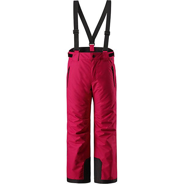 Брюки Reimatec® Reima Takeoff для девочкиОдежда<br>Характеристики товара:<br><br>• цвет: розовый;<br>• 100% полиэстер, полиуретановое покрытие;<br>• утеплитель: 100% полиэстер 120 г/м2;<br>• сезон: зима;<br>• температурный режим: от 0 до -20С;<br>• водонепроницаемость: 12000 мм;<br>• воздухопроницаемость: 8000 мм;<br>• износостойкость: 30000 циклов (тест Мартиндейла)<br>• особенности: с подтяжками;<br>• водо- и ветронепроницаемый, дышащий и грязеотталкивающий материал;<br>• все швы проклеены и водонепроницаемы;<br>• гладкая подкладка из полиэстера;<br>• прочные усиленные вставки внизу брючин;<br>• регулируемый обхват талии;<br>• снегозащитные манжеты на штанинах;<br>• застежка: молния, пуговица;<br>• карманы на молнии;<br>• регулируемые съемные эластичные подтяжки;<br>• потайной карман для датчика ReimaGO®;<br>• светоотражающие элементы;<br>• страна бренда: Финляндия;<br>• страна производства: Китай.<br><br>Зимние брюки просто созданы для активных детей: они отталкивают влагу и грязь, а все швы в них проклеены и водонепроницаемы. Ветронепроницаемый и в то же время дышащий материал обеспечивает комфорт во время увлекательных прогулок – ребенку будет тепло, но он не вспотеет. <br><br>Очень удобные съемные и регулируемые подтяжки будут надежно поддерживать брюки во время всех активных приключений. Прочные усиления на концах брючин защищают лодыжки. Благодаря защите от снега, никакой снег и мороз не проберутся внутрь, так что брюки идеально подойдут для сноубординга и горных лыж. <br><br>Регулируемая талия обеспечит отличную посадку по фигуре. Эта модель с прямым, слегка свободным покроем снабжена потайным карманом для сенсора ReimaGO. <br><br>Брюки Takeoff Reimatec® Reima (Рейма) можно купить в нашем интернет-магазине.<br>Ширина мм: 215; Глубина мм: 88; Высота мм: 191; Вес г: 336; Цвет: розовый; Возраст от месяцев: 36; Возраст до месяцев: 48; Пол: Женский; Возраст: Детский; Размер: 104,164,158,152,146,140,134,128,122,116,110; SKU: 6904346;