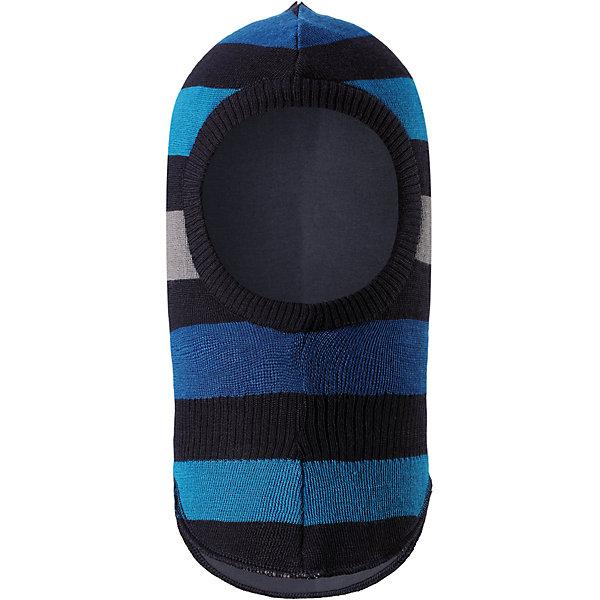 Шапка-шлем LassieШапки и шарфы<br>Характеристики товара:<br><br>• цвет: синий;<br>• состав: 50% шерсть, 50% полиакрил; <br>• подкладка: 97% хлопок, 3% эластан;<br>• сезон: зима;<br>• без дополнительного утепления;<br>• температурный режим: от 0 до -20С;<br>• мягкая и теплая ткань из смеси шерсти;<br>• ветронепроницаемые вставки в области ушей;<br>• сплошная подкладка: приятный на ощупь хлопковый трикотаж с эластаном;<br>• светоотражающие детали;<br>• страна бренда: Финляндия;<br>• страна изготовитель: Китай;<br><br>Шапка-шлем для малышей и детей постарше – классический выбор для зимней поры. Она предназначена для защиты ушек, лба и области шеи от холода и ветра. Шапка связана из теплой полушерсти и снабжена удобной плотно прилегающей подкладкой на легком утеплителе – в ней голове и щечкам будет тепло во время веселых зимних прогулок. Ветронепроницаемые вставки в области ушей также обеспечивают дополнительную защиту.<br><br>Шапку-шлем Lassie (Ласси) можно купить в нашем интернет-магазине.<br>Ширина мм: 89; Глубина мм: 117; Высота мм: 44; Вес г: 155; Цвет: синий; Возраст от месяцев: 9; Возраст до месяцев: 12; Пол: Мужской; Возраст: Детский; Размер: 44-46,50-52,46-48; SKU: 6905644;