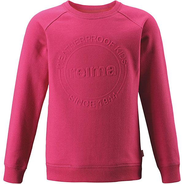 Reima Свитер Reima Lingon для девочки reima футболка с длинным рукавом reima tiptoe для девочки