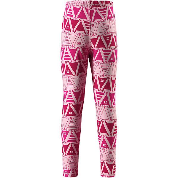 Брюки Reima Toimii для девочкиФлис и термобелье<br>Характеристики товара:<br><br>• цвет: розовый;<br>• состав: 61% хлопок, 33% полиэстер, 6% эластан; <br>• сезон: демисезон;<br>• быстросохнущий материал Play jersey, приятный на ощупь;<br>• мягкий хлопчатобумажный верх, внутренняя поверхность хорошо выводит влагу;<br>• эластичная талия;<br>• страна бренда: Финляндия;<br>• страна изготовитель: Китай;<br><br>Леггинсы изготовлены из удобного быстросохнущего материала Play Jersey. Хлопковая поверхность очень мягкая и приятна на ощупь, а изнаночная сторона эффективно отводит влагу. Благодаря эластану, ткань тянется, обеспечивает комфорт и не сковывает движений во время подвижных веселых игр. Одежду Play Jersey можно носить круглый год – материал имеет УФ-защиту 40+. <br><br>Брюки Toimii Reima (Рейма) можно купить в нашем интернет-магазине.<br>Ширина мм: 215; Глубина мм: 88; Высота мм: 191; Вес г: 336; Цвет: розовый; Возраст от месяцев: 108; Возраст до месяцев: 120; Пол: Женский; Возраст: Детский; Размер: 140,134,128,122,116,110,104,98,92,164,158,152,146; SKU: 6906123;