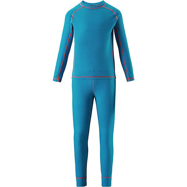Комплект термобелья Reima Cepheus для мальчикаОдежда<br>Характеристики товара:<br><br>• цвет: голубой;<br>• состав: 100% полиэстер; <br>• сезон: демисезон;<br>• выводит влагу наружу;<br>• специальный материал обеспечивает дополнительный комфорт;<br>• удлиненный подол сзади для дополнительной защиты;<br>• мягкие плоские швы для дополнительного комфорта: не раздражают кожу;<br>• швы контрастного цвета;<br>• страна бренда: Финляндия;<br>• страна изготовитель: Китай;<br><br>Детский базовый комплект станет отличным выбором для любителей активного отдыха на свежем воздухе: материал эффективно выводит влагу в верхние слои одежды и быстро сохнет. Комплект очень приятный на ощупь, он просто создан для веселых прогулок – в нем ребенок не замерзнет и не вспотеет! Футболка с удлиненной спинкой обеспечивает дополнительную защиту для поясницы, а мягкие и плоские швы не натирают кожу. <br><br>Комплект термобелья Reima Cepheus (Рейма) можно купить в нашем интернет-магазине.<br>Ширина мм: 196; Глубина мм: 10; Высота мм: 154; Вес г: 152; Цвет: синий; Возраст от месяцев: 96; Возраст до месяцев: 108; Пол: Мужской; Возраст: Детский; Размер: 170,100,160,150,140,130,120,110; SKU: 6906434;