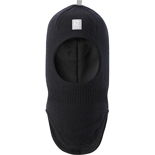 Шапка-шлем Reima StarrieГоловные уборы<br>Характеристики товара:<br><br>• состав: 100% шерсть;<br>• подкладка: 97% хлопок, 3% эластан<br>• температурный режим: от 0 до -20С;<br>• сезон: зима; <br>• особенности модели: вязаная, на подкладке;<br>• мягкая ткань из мериносовой шерсти для поддержания идеальной температуры тела;<br>• сплошная подкладка: хлопковый трикотаж с эластаном;<br>• ветронепроницаемые вставки в области ушей;<br>• светоотражающая эмблема;<br>• логотип Reima спереди;<br>• страна бренда: Финляндия;<br>• страна изготовитель: Китай.<br><br>Вязаная шапка-шлем из коллекции Reima® Originals защищает голову малыша в холодную пору. Эта шапка-шлем для малышей и детей постарше связана из теплой шерсти и подшита мягкой на ощупь подкладкой из смеси хлопка и эластана, которая удобно облегает голову.<br><br>Ветронепроницаемые вставки в области ушей, вшитые между подкладкой и верхним слоем, защищают ушки от холодного ветра. Эта классическая модель хорошо закрывает лоб, щечки и шею.