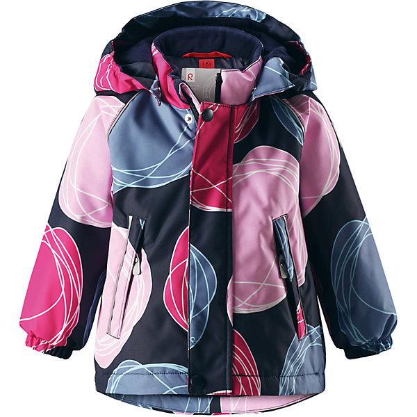 Куртка Reima Reimatec® Kuusi для девочкиОдежда<br>Характеристики товара:<br><br>• цвет: синий <br>• состав: 100% полиэстер<br>• утеплитель: 100% полиэстер, 160 г/м2 (soft loft insulation)<br>• сезон: зима<br>• температурный режим: от 0 до -20С<br>• водонепроницаемость: 15000 мм<br>• воздухопроницаемость: 7000 мм<br>• износостойкость: 40000 циклов (тест Мартиндейла)<br>• особенности модели: с рисунком, с мехом<br>• основные швы проклеены и не пропускают влагу<br>• водо- и ветронепроницаемый, дышащий и грязеотталкивающий материал<br>• гладкая подкладка из полиэстера<br>• безопасный, съемный капюшон на кнопках<br>• съемный искусственный мех на капюшоне<br>• защита подбородка от защемления<br>• эластичные манжеты<br>• регулируемый подол<br>• застежка: молния<br>• дополнительная планка на кнопках<br>• два кармана на молнии<br>• светоотражающие детали<br>• страна бренда: Финляндия<br>• страна изготовитель: Китай<br><br>Зимняя куртка с капюшоном для девочки. Все швы проклеены и водонепроницаемы, а сама она изготовлена из водо и ветронепроницаемого, грязеотталкивающего материала. Гладкая подкладка и длинная застежка на молнии облегчают надевание.<br><br>Съемный капюшон защищает от ветра, к тому же он абсолютно безопасен – легко отстегнется, если вдруг за что-нибудь зацепится. Маленькие карманы на молнии надежно сохранят все сокровища. Обратите внимание: куртку можно сушить в сушильной машине. Зимняя куртка на молнии для девочки декорирована абстрактным рисунком.<br><br>Куртка Kuusi для девочки Reimatec® Reima от финского бренда Reima (Рейма) можно купить в нашем интернет-магазине.<br>Ширина мм: 356; Глубина мм: 10; Высота мм: 245; Вес г: 519; Цвет: розовый; Возраст от месяцев: 24; Возраст до месяцев: 36; Пол: Женский; Возраст: Детский; Размер: 98,92,86,80; SKU: 6908245;