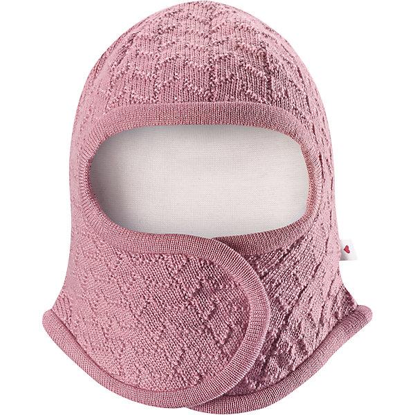 Шапка-шлем Reima Littlest для девочкиШапочки<br>Характеристики товара:<br><br>• цвет: розовый;<br>• состав: 100% шерсть;<br>• подкладка: 97% хлопок, 3% эластан;<br>• температурный режим: от 0 до -20С;<br>• сезон: зима; <br>• особенности модели: на подкладке, на липучках;<br>• сплошная подкладка: гладкий хлопковый трикотаж;<br>• ткань из смеси мериносовой шерсти сохраняет тепло даже при намокании;<br>• шерсть идеально поддерживает температуру;<br>• товар сертифицирован Oeko-Tex, класс 1, одежда для малышей;<br>• мягкая подкладка из хлопка и эластана;<br>• задние швы отсутствуют;<br>• застежка на липучке спереди;<br>• логотип Reima сбоку;<br>• страна бренда: Финляндия;<br>• страна изготовитель: Китай.<br><br>Шапка-шлем для самых маленьких. Спереди она снабжена удобной застежкой на липучке, поэтому ее легко надевать. Продуманный дизайн предусматривает надежную защиту подбородка, шеи и щечек. Шапка-шлем связана из мериносовой шерсти с лёгкой и мягкой подкладкой из натурального хлопка, поэтому она мягкая и приятная на ощупь и идеально подходит для нежной кожи новорожденного. <br><br>Шапка-шлем Reima Littlest от финского бренда Reima (Рейма) можно купить в нашем интернет-магазине.<br>Ширина мм: 89; Глубина мм: 117; Высота мм: 44; Вес г: 155; Цвет: розовый; Возраст от месяцев: 0; Возраст до месяцев: 3; Пол: Женский; Возраст: Детский; Размер: 42-44,38-40,34-36; SKU: 6908770;
