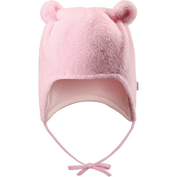 Флисовая шапка Reima LeoШапочки<br>Характеристики товара:<br><br>• цвет: розовый;<br>• состав: 100% полиэстер, флис;<br>• подкладка: 97% хлопок, 3% эластан;<br>• температурный режим: от 0 до -20С;<br>• сезон: зима; <br>• особенности модели: флисовая, на завязках;<br>• дышащий, теплый и быстросохнущий флис;<br>• сплошная подкладка: мягкий теплый триотаж;<br>• задние швы отсутствуют;<br>• шапка на завязках, сверху декоративные ушки;<br>• логотип Reima сбоку;<br>• страна бренда: Финляндия;<br>• страна изготовитель: Китай.<br><br>Флисовая шапка на завязках для новорожденных сшита из мягкого и пушистого ворсового флиса и снабжена симпатичной подкладкой из джерси. Флис – дышащий и быстросохнущий материал, а благодаря отсутствию заднего шва шапка идеально подойдет для чувствительной кожи младенца. Довершите образ парой симпатичных варежек Lepus.<br><br>Шапка Leo Reima от финского бренда Reima (Рейма) можно купить в нашем интернет-магазине.<br>Ширина мм: 89; Глубина мм: 117; Высота мм: 44; Вес г: 155; Цвет: розовый; Возраст от месяцев: 0; Возраст до месяцев: 3; Пол: Унисекс; Возраст: Детский; Размер: 34-36,42-44,38-40; SKU: 6908822;