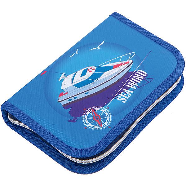 Купить Пенал с наполнением MagTaller Sea Wind , 27 предметов, Финляндия, Мужской