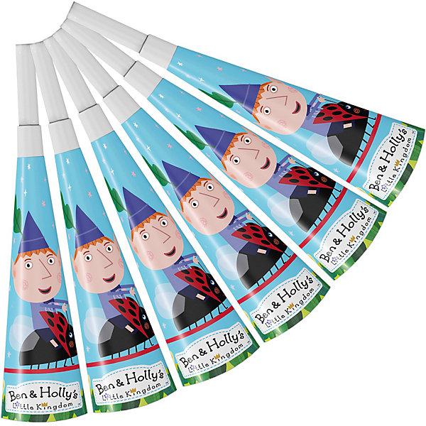 Росмэн Дудочи 6 шт., Бен и Холли росмэн набор свечей на палочках росмэн бен и холли 5 шт