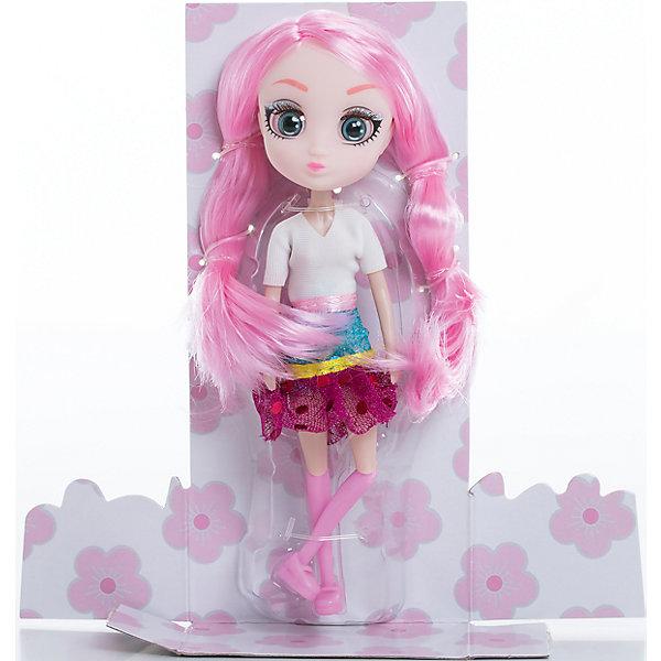 Кукла Сури, 15 см, Шибадзуку ГерлзКуклы модели<br>Характеристики товара:<br><br>• возраст: от 3 лет;<br>• материал: пластик,текстиль;<br>•высота куклы: 15 см;<br>•в комплекте : кукла,аксессуары;<br>• размер упаковки: 5х8х17 см;<br>• вес упаковки: 87 гр.;<br>• страна обладатель бренда: Австралия;<br>• бренд: Hunter Products. <br><br>Кукла Сури из коллекции Shibajuku Girls в абсолютно новом образе. Модняшка Сури просто обожает все цветное, у нее очень большая коллекция самых разных аксессуаров, а еще малышка настоящий кулинар, ее любимое занятие — печь кап-кейки. Нельзя оставить без внимания наряд Сури, она одета в белую кофточку с коротким рукавом и блестящую юбочку с пайетками. <br><br>У Сури огромные глаза, яркий макияж и очень стильная прическа — длинные розовые волосы. Девочка сможет создать для любимой куклы любую прическу, которую только пожелает, волосы легко расчесываются. <br><br>У куклы подвижная голова, руки и ноги. Руки без шарниров, а вот ноги сгибаются в бедре, прокручиваются и сгибаются в колене. <br> <br>Куклу Сури ,15 см  можно приобрести в нашем интернет-магазине.<br>Ширина мм: 80; Глубина мм: 50; Высота мм: 170; Вес г: 87; Возраст от месяцев: 36; Возраст до месяцев: 2147483647; Пол: Женский; Возраст: Детский; SKU: 6916233;