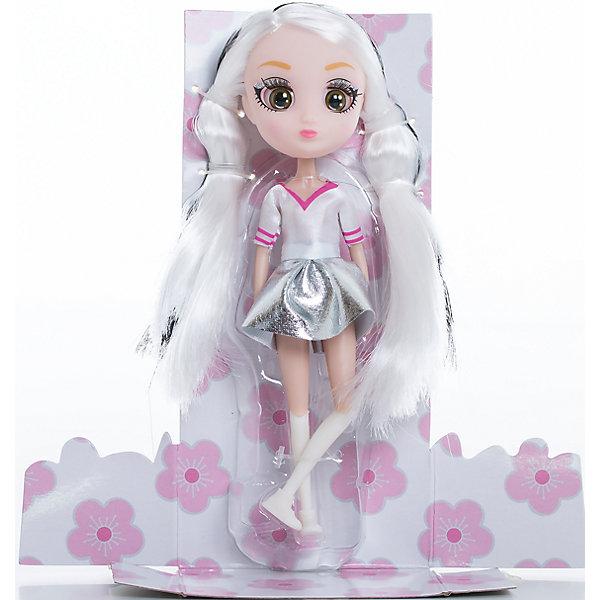 Кукла Мики, 15 см, Шибадзуку ГерлзКуклы<br>Характеристики товара:<br><br>• возраст: от 3 лет;<br>• материал: пластик,текстиль;<br>•высота куклы: 15 см;<br>•в комплекте : кукла,аксессуары;<br>• размер упаковки: 5х8х17 см;<br>• вес упаковки: 87 гр.;<br>• страна обладатель бренда: Австралия;<br>• бренд: Hunter Products. <br><br>Кукла Мики — она очень модная, светловолосая с черными прядями. Ей можно делать много необычных причесок! Мики любит стильную одежду, на ней белая кофта с коротким рукавом, серебристая юбка, белые гетры и ботиночки. <br><br>У куклы подвижная голова, руки и ноги. Руки без шарниров, а вот ноги сгибаются в бедре, прокручиваются и сгибаются в колене. <br><br>Девочка будет в восторге от такого подарка, Мики однозначно станет любимой игрушкой, ведь с ней можно придумать так много увлекательных историй. А еще здорово будет собрать целую коллекцию Shibajuku Girls. <br><br>Куклу Мики ,15 см  можно приобрести в нашем интернет-магазине.<br>Ширина мм: 80; Глубина мм: 50; Высота мм: 170; Вес г: 87; Возраст от месяцев: 36; Возраст до месяцев: 2147483647; Пол: Женский; Возраст: Детский; SKU: 6916234;
