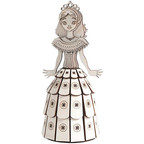 Lemmo Деревянный 3D конструктор подвижный Принцесса, Lemmo