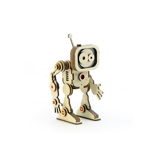 Lemmo Деревянный 3D конструктор подвижный Робот Флеш, Lemmo отсутствует автомир 33 2017