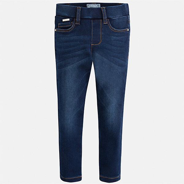 Mayoral Джинсы Mayoral для девочки брюки джинсы и штанишки coccodrillo леггинсы для девочки oh ok