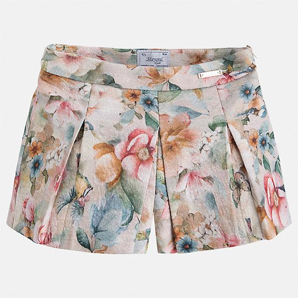 Юбка Mayoral для девочкиОдежда<br>Характеристики товара:<br><br>• цвет: коричневый<br>• состав ткани: 85% хлопок, 15% полиэстер<br>• сезон: круглый год<br>• застежка: молния<br>• юбка-шорты<br>• страна бренда: Испания<br>• страна изготовитель: Индия<br><br>Современная детская одежда может быть стильной и удобной. Эта юбка-шорты - отличный вариант одежды для торжественных случаев.<br><br>В одежде от испанской компании Майорал ребенок будет выглядеть модно, а чувствовать себя - комфортно. Целая команда европейских талантливых дизайнеров работает над созданием стильных и оригинальных моделей одежды.<br><br>Юбку для девочки Mayoral (Майорал) можно купить в нашем интернет-магазине.<br>Ширина мм: 207; Глубина мм: 10; Высота мм: 189; Вес г: 183; Цвет: коричневый; Возраст от месяцев: 36; Возраст до месяцев: 48; Пол: Женский; Возраст: Детский; Размер: 104,128,122,116,110,134; SKU: 6923145;