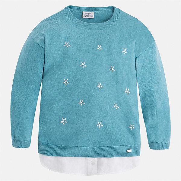 Mayoral Свитер для девочки Mayoral джемперы свитера пуловеры coccodrillo свитер для девочки make a wish
