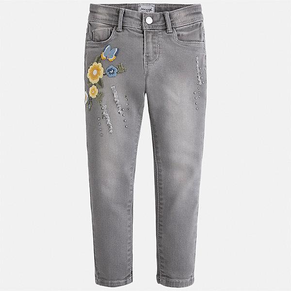 Mayoral Брюки для девочки Mayoral брюки джинсы и штанишки s'cool брюки для девочки hip hop 174059