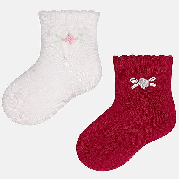Mayoral Носки (2 пары) Mayoral для девочки колготки носки гетры bossa nova носки для девочки 2 пары 1846