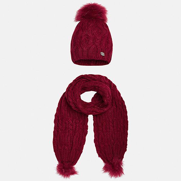 Mayoral Комплект: шапка и шарф Mayoral для девочки