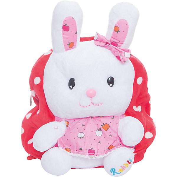 Рюкзак  Vitacci для девочкиДетские сумки<br>Характеристики товара:<br><br>• цвет: розовый;<br>• материал: текстиль;<br>• особенности: с игрушкой;<br>• застежка: молния;<br>• количество отделений: 1;<br>• игрушка не съемная;<br>• объем: 0,02 л;<br>• вес: 100 гр;<br>• размер: 24х10х25 см;<br>• страна бренда: Италия;<br>• страна производства: Китай.<br><br>Рюкзак с игрушкой в виде зайки. Рюкзак застегивается на молнию, внутри одно отделение. Игрушка пришита к рюкзаку. Рюкзак очень легкий.<br><br>Рюкзак Vitacci (Витачи) можно купить в нашем интернет-магазине.<br>Ширина мм: 170; Глубина мм: 157; Высота мм: 67; Вес г: 117; Цвет: розовый; Возраст от месяцев: 48; Возраст до месяцев: 144; Пол: Женский; Возраст: Детский; Размер: one size; SKU: 6926952;