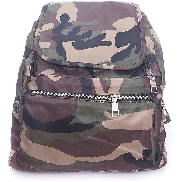Рюкзак  Vitacci для мальчикаАксессуары<br>Характеристики товара:<br><br>• цвет: хаки;<br>• материал: текстиль;<br>• особенности: в стиле милитари;<br>• застежка: молния;<br>• количество отделений: 1;<br>• внутренний карман на молнии;<br>• карман на молнии на спинке;<br>• внешний карман на молнии;<br>• два боковых кармана на молнии;<br>• плечевые лямки регулируются по длине;<br>• вес: 200 гр;<br>• размер: 32х25х60 см;<br>• страна бренда: Италия;<br>• страна производства: Китай.<br><br>Молодежный рюкзак цвета хаки. Рюкзак для мальчика застегивается на молнию. Внутри одно большое отделение и карман на молнии. Внешний карман на молнии спереди, два боковых кармана на молнии и один карман на молнии на спинке изделия. Плечевые ремни регулируются.<br><br>Рюкзак Vitacci (Витачи) можно купить в нашем интернет-магазине.<br>Ширина мм: 170; Глубина мм: 157; Высота мм: 67; Вес г: 117; Цвет: коричневый; Возраст от месяцев: 48; Возраст до месяцев: 144; Пол: Мужской; Возраст: Детский; Размер: one size; SKU: 6926972;