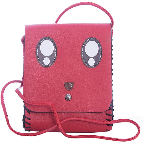 Сумка для девочки VitacciАксессуары<br>Характеристики товара:<br><br>• цвет: красный;<br>• материал: искусственная кожа;<br>• особенности: с аппликацией;<br>• застежка: клапан;<br>• количество отделений: 1;<br>• внутренний карман на молнии;<br>• сумка на плечо;<br>• два боковых кармана;<br>• плечевые лямки регулируются по длине;<br>• вес: 200 гр;<br>• размер: 19х4х15 см;<br>• страна бренда: Италия;<br>• страна производства: Китай.<br><br>Сумка на плечо для девочки. Сумка застегивается на клапан, ремень в комплекте. Внутри одно отделение и карман на молнии. Спереди сумки аппликация в виде личика зверька.<br><br>Сумку на плечо Vitacci (Витачи) можно купить в нашем интернет-магазине.<br>Ширина мм: 170; Глубина мм: 157; Высота мм: 67; Вес г: 117; Цвет: розовый; Возраст от месяцев: 48; Возраст до месяцев: 144; Пол: Женский; Возраст: Детский; Размер: one size; SKU: 6926978;