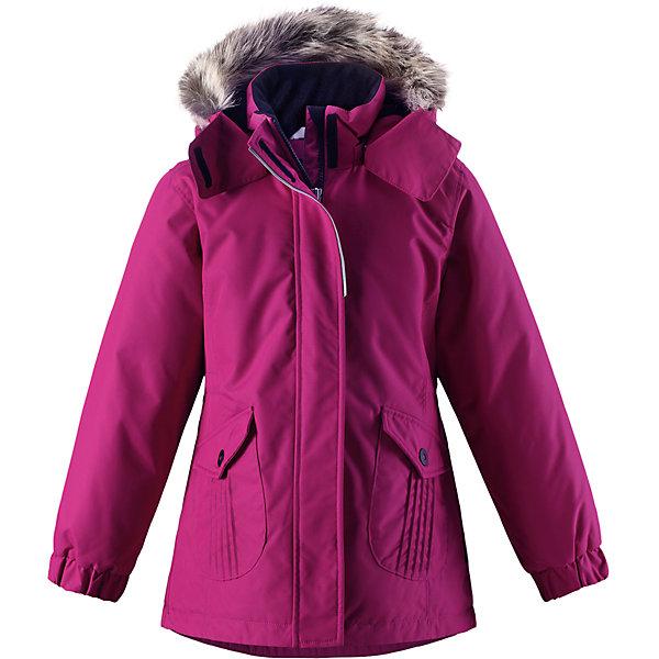 Куртка Lassie для девочкиОдежда<br>Характеристики товара:<br><br>• цвет: розовый;<br>• состав: 100% полиэстер, полиуретановое покрытие;<br>• подкладка: 100% полиэстер;<br>• утеплитель: 180 г/м2;<br>• сезон: зима;<br>• температурный режим: от 0 до -20С;<br>• водонепроницаемость: 1000 мм;<br>• воздухопроницаемость: 2000 мм;<br>• износостойкость: 20000 циклов (тест Мартиндейла);<br>• особенности: с мехом, удлиненная куртка;<br>• застежка: молния с дополнительной защитной планкой;<br>• водоотталкивающий, ветронепроницаемый и дышащий материал;<br>• гладкая подкладка из полиэстера;<br>• безопасный съемный капюшон; <br>• съемный искусственный мех на капюшоне;<br>• эластичные манжеты рукавов; <br>• регулируемый обхват талии;<br>• карманы с клапанами;<br>• светоотражающие детали;<br>• страна бренда: Финляндия;<br>• страна изготовитель: Китай;<br><br>Параметры изделия: <br>• Длина внутреннего шва рукава: 49 см<br>• Длина внешнего шва рукава: 58 см <br>• Длина спинки: 69 см<br>• Ширина от плеча до плеча: 39 см<br>• Ширина спинки от подмышки до подмышки: 47 см<br><br>В этой стильной детской зимней куртке любители прогулок будут так хорошо выглядеть, а еще им будет очень тепло! Удлиненная модель для девочек, спереди оснащенная большими карманами с клапанами. Куртка изготовлена из ветронепроницаемого, дышащего материала с верхним водо- и грязеотталкивающим слоем – в ней будет тепло и комфортно во время веселых прогулок. Образ дополняют полезные и продуманные детали: карманы на липучках и безопасный съемный капюшон со съемной оторочкой из искусственного меха.<br><br>Куртку Lassie (Ласси) для девочки можно купить в нашем интернет-магазине.<br>Ширина мм: 356; Глубина мм: 10; Высота мм: 245; Вес г: 519; Цвет: розовый; Возраст от месяцев: 18; Возраст до месяцев: 24; Пол: Женский; Возраст: Детский; Размер: 92,140,134,128,122,116,110,104,98; SKU: 6927531;