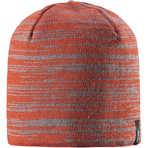 Шапка Lassie для мальчикаШапки и шарфы<br>Характеристики товара:<br><br>• цвет: оранжевый;<br>• состав: 50% шерсть, 50% полиакрил;<br>• подкладка: 100% полиэстер, флис;<br>• без утеплителя;<br>• сезон: демисезон;<br>• температурный режим: от +5С;<br>• особенности: шерстяная, вязаная;<br>• мягкая и теплая ткань из смеси шерсти;<br>• ветронепроницаемые вставки в области ушей; <br>• сплошная подкладка: мягкий теплый флис;<br>• светоотражающие детали; <br>• страна бренда: Финляндия;<br>• страна изготовитель: Китай;<br><br>Эта модная шапка для мальчиков – великолепное дополнение к детскому зимнему гардеробу. Шапка связана из теплой полушерсти, дополнена быстросохнущей и мягкой флисовой подкладкой и снабжена ветронепроницаемыми вставками в области ушей, которые защищают ушки от холодного ветра. Светоотражающая эмблема Lassie®.<br><br>Шапку Lassie (Ласси) можно купить в нашем интернет-магазине.<br>Ширина мм: 89; Глубина мм: 117; Высота мм: 44; Вес г: 155; Цвет: оранжевый; Возраст от месяцев: 12; Возраст до месяцев: 24; Пол: Мужской; Возраст: Детский; Размер: 46-48,54-56,50-52; SKU: 6928125;