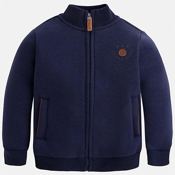 Куртка для мальчика MayoralВерхняя одежда<br>Характеристики товара:<br><br>• цвет: серый<br>• состав ткани: 100% хлопок<br>• сезон: демисезон<br>• температурный режим: от +10 до +20<br>• особенности модели: спортивный стиль<br>• застежка: молния<br>• страна бренда: Испания<br>• страна изготовитель: Китай<br><br>Демисезонная детская куртка для мальчика отлично подойдет для прохладной погоды. Эта куртка для ребенка от бренда Mayoral дополнена мягкими манжетами. Детская куртка от Mayoral снабжена воротником-стойкой. <br><br>Куртку Mayoral (Майорал) для мальчика можно купить в нашем интернет-магазине.<br>Ширина мм: 356; Глубина мм: 10; Высота мм: 245; Вес г: 519; Цвет: синий; Возраст от месяцев: 18; Возраст до месяцев: 24; Пол: Мужской; Возраст: Детский; Размер: 92,134,128,122,116,110,104,98; SKU: 6932722;