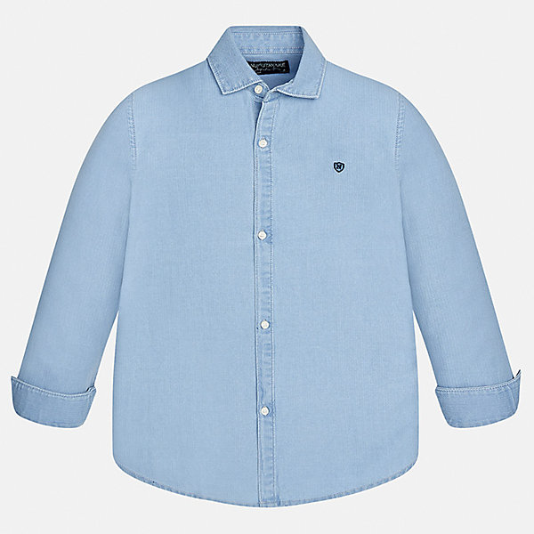 Mayoral Рубашка для мальчика Mayoral mayoral mayoral школьная рубашка голубая