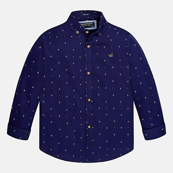 Mayoral Рубашка Mayoral для мальчика mayoral mayoral школьная рубашка голубая
