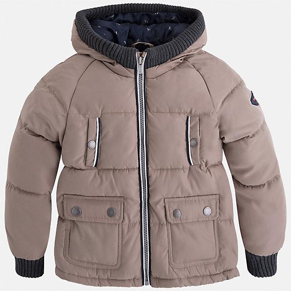 Куртка для мальчика MayoralВерхняя одежда<br>Характеристики товара:<br><br>• цвет: бежевый<br>• состав ткани: 65% полиамид, 35% полиэстер<br>• подкладка: 100% полиэстер<br>• утеплитель: 100% полиэстер<br>• сезон: демисезон<br>• температурный режим: от -10 до +10<br>• особенности куртки: дутая, с капюшоном<br>• капюшон: несъемный<br>• застежка: молния<br>• страна бренда: Испания<br>• страна изготовитель: Индия<br><br>Детская куртка подойдет для прохладной погоды и небольшого мороза. Благодаря качественной ткани детской куртки для мальчика создаются комфортные условия для тела. Стильная куртка для мальчика отличается стильным продуманным дизайном.<br><br>Куртку для мальчика Mayoral (Майорал) можно купить в нашем интернет-магазине.<br>Ширина мм: 356; Глубина мм: 10; Высота мм: 245; Вес г: 519; Цвет: бежевый; Возраст от месяцев: 96; Возраст до месяцев: 108; Пол: Мужской; Возраст: Детский; Размер: 134,92,98,104,110,116,122,128; SKU: 6934589;