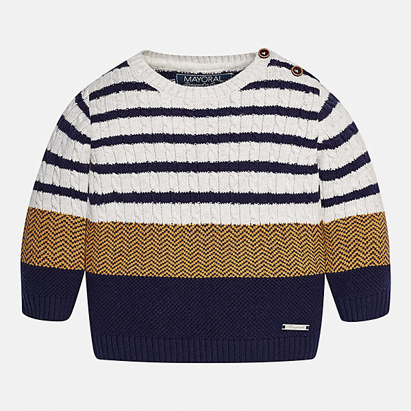 Mayoral Свитер для мальчика Mayoral свитер для мальчика nukutavake by mayoral цвет темно синий 6305 77 7b размер 140 10 лет